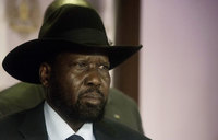 S.Sudan president vows aid access to famine-hit areas