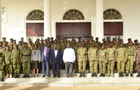 Museveni happy with security situation in Uganda