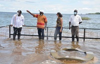 Ngamba Island Chimp Sanctuary hit by rising water levels