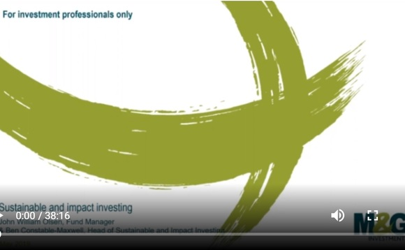 SharingAlpha webcast: M&G's John William Olsen, Ben Constable-Maxwell discuss sustainable & positive impact investing