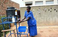 Kamwenge health facility improves hygiene, sanitation