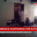 Cancer medics suspended for extortion