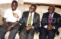 Katikkiro is chief walker at Pope's Walk