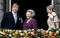 Dutch King Willem-Alexander succeeds mother