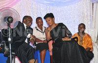 Who rocked at Kabaka's 61st birthday dinner?
