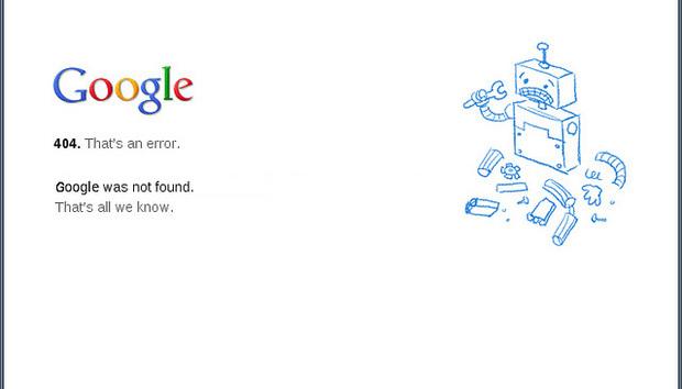 google-error