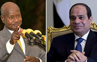 Museveni receives message from Egyptian counterpart