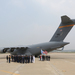 Aircraft carrying remains of US Korean War dead arrives in S. Korea
