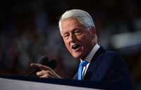 Bill Clinton makes case for history-making Hillary
