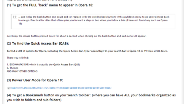 opera18togetbookmarksdownloadanextension