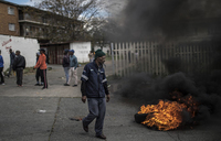Protesters, police clash ahead of South Africa polls