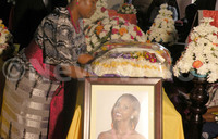 Hundreds mourn MP's daughter