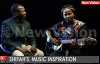 Shifah's music inspiration