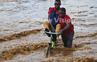 In pictures: Morning rain batters Kampala