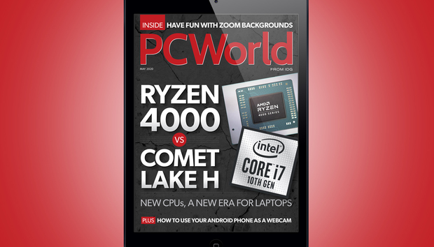 PCWorld's May Digital Magazine: Ryzen 4000 vs. Comet Lake H