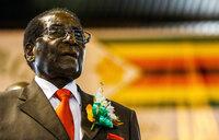 Supporters gather for Mugabe's lavish birthday party