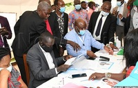 In pictures: Nomination of parliamentary aspirants