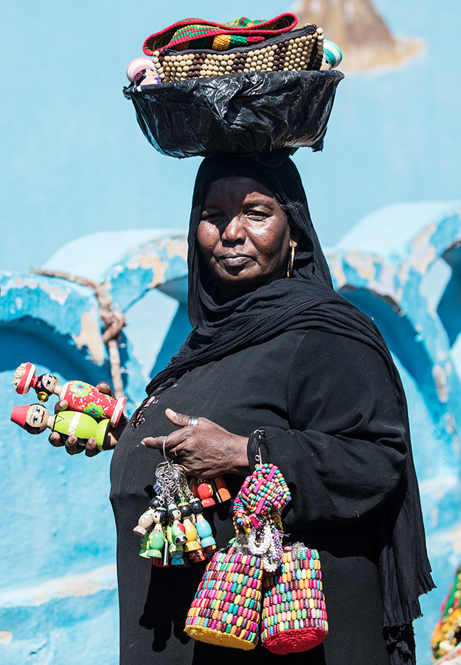 ubian woman sells souvenirs in the village of harb uhail near swan in pper gypt some 920 kilometres south of the capital airo on ebruary 5 2020 hoto by haled