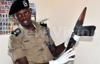 Luwero locals find abandoned guns