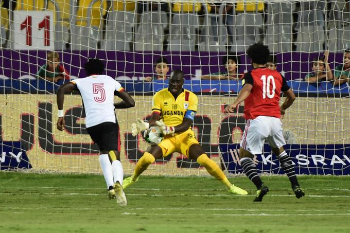 gypts player ohamed alah  shoots against nyango  hoto