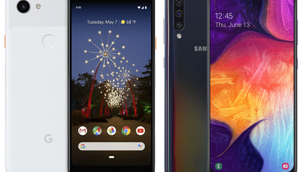 Samsung Galaxy A50 vs Google Pixel 3a: Which mid-range shooter should you buy?