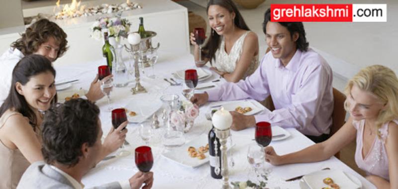 होली पार्टी पर टेबल एटिकेट्स का साथ रखें ध्यान, बढ़ जाएगी दावत की शान
