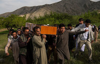 Outrage after bloody day for Afghan journalists