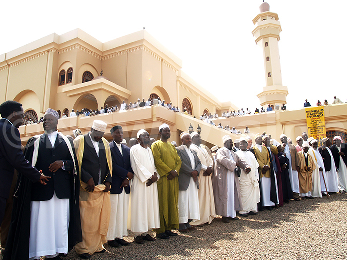 ld ampala ational mosque  pening ufti leads muslimsc 080607