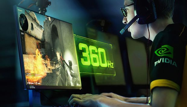 Nvidia's face-melting G-Sync Esports Displays hit a blistering 360Hz