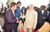 Modi tips Ugandans on value addition
