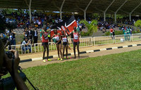 Kenya are inaugural XC mixed relay gold winners