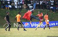 University League: Fans invade pitch as YMCA beat MUBS