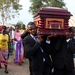 Politicians clash at burial of MP's father