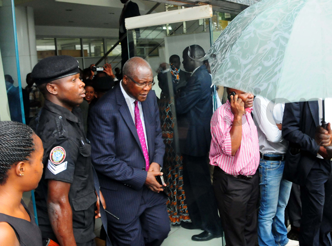 he hief ustice art aturebe leaves the court premises amid a downpour after reading the ruling of the election petition hoto by icholas neal