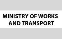 Notice from the Ministry of Works