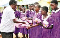 30% of girls leaving school for lack of sanitary pads