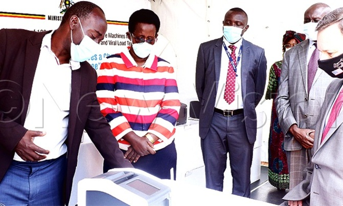Health ministry receives machines to boost HIV testing in Infants