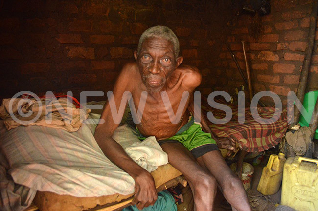 aganda lives in appalling condition
