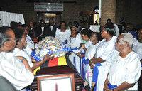 In pictures: Nkoyoyo funeral service in Mukono