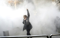 Iran student gets 7 years for taking part in protest