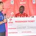 Guloba wins Airtel Gabon trip