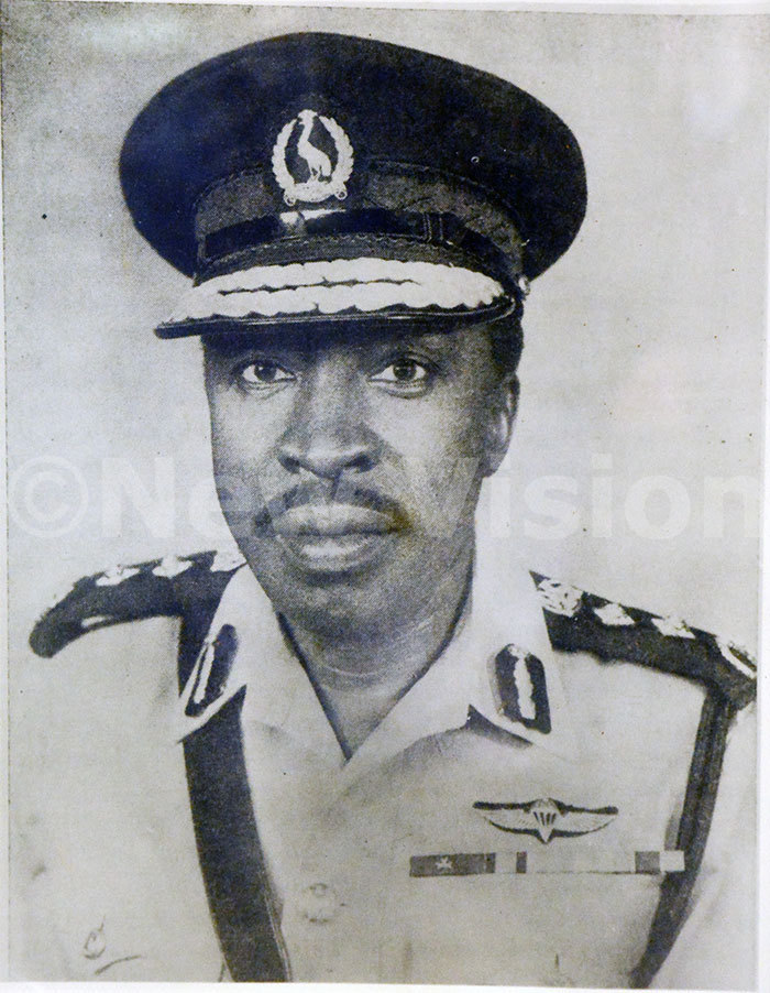 ilson rinayo ryema was the first gandan nspector eneral of olice
