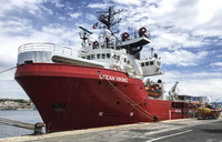 'I'm going to jump': tensions on Ocean Viking migrant rescue ship