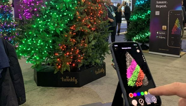 Ledworks's animated Twinkly LED string lights are about to get hip to music