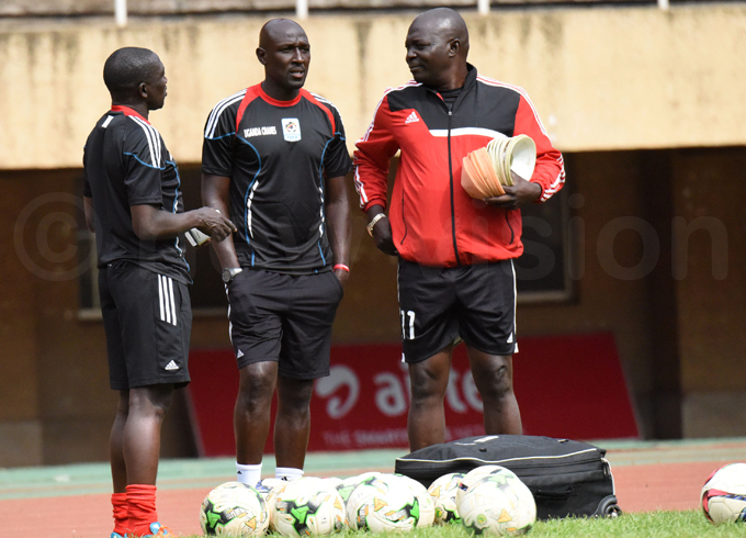 ormer ranes captain brahim ekagya  has joined the coaching team ahead of the match hoto by palanyi sentongo