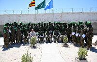 UPDF recognised for distinguished service in Somalia