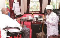 Ahuruma could be Uganda's oldest person