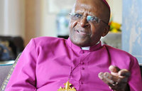 Tutu 'jovial as usual' after return to hospital