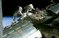 US astronauts complete ISS spacewalk
