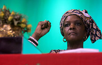 Grace Mugabe in first appearance after alleged assault